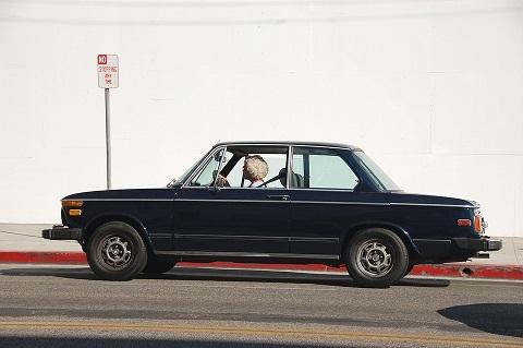 Vorige eigenaar auto is een oud vrouwtje